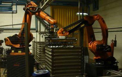 Chargeur – Déchargeur de paniers Robot