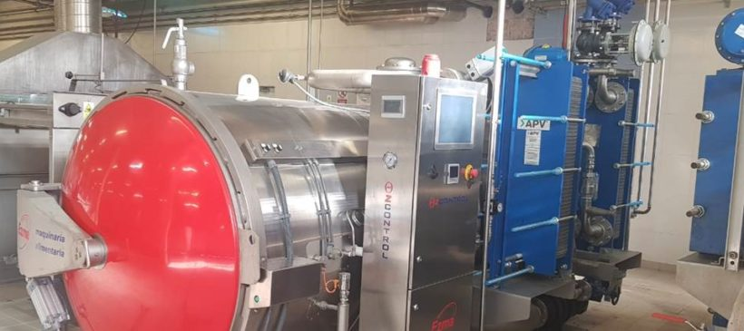AUTOCLAVES EZMA E82 DOS INTERCAMBIADORES